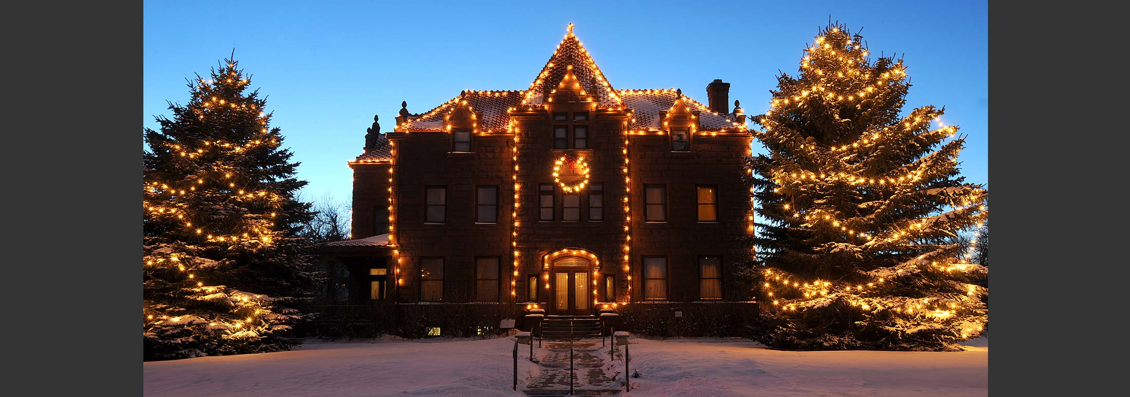 Christmas Time – and Any Time – at the Moss Mansion Museum