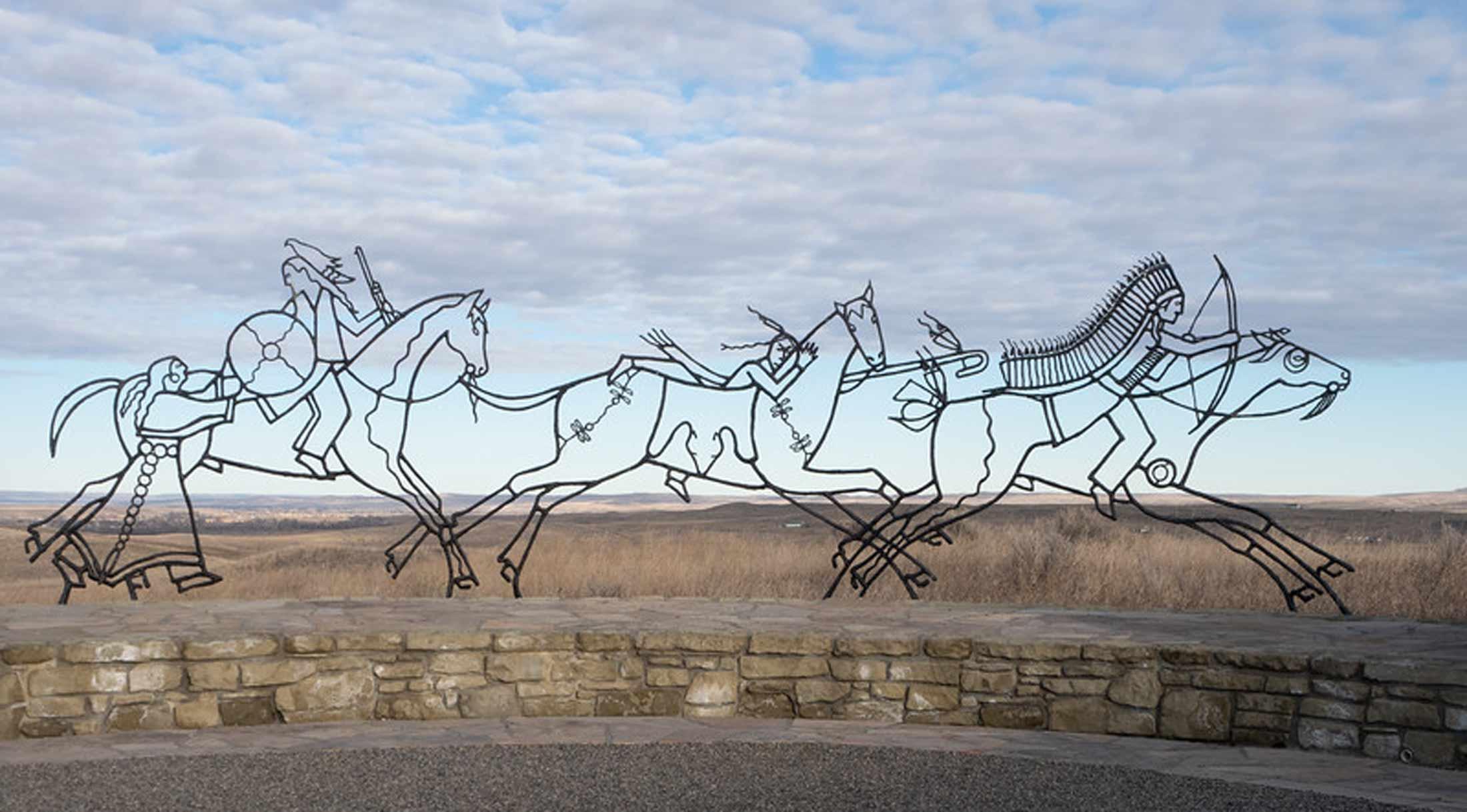 Visit Little Bighorn on a Montana Road Trip