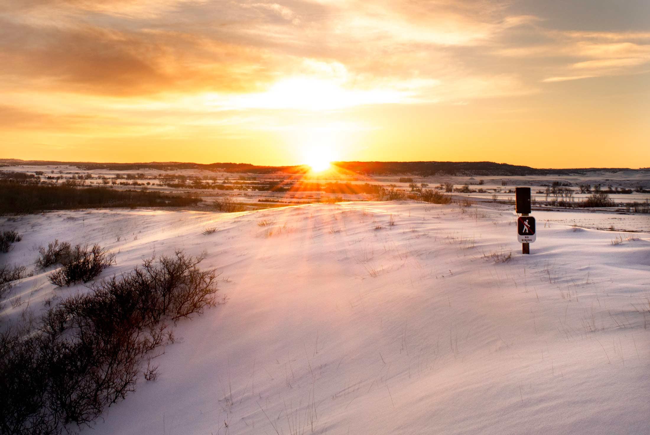 Unexpected Winter Activities in Southeast Montana