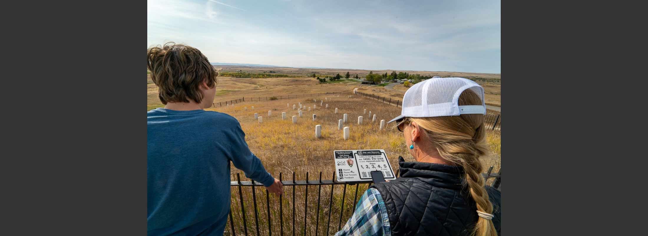 Visiting Battlefields in Montana
